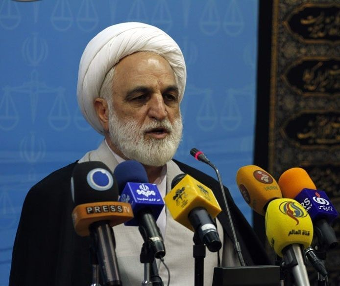 Gholam-Hossein_Mohseni-Ejei_in_a_press_conference_1
