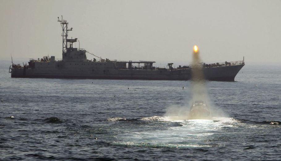 Iranian-Warship