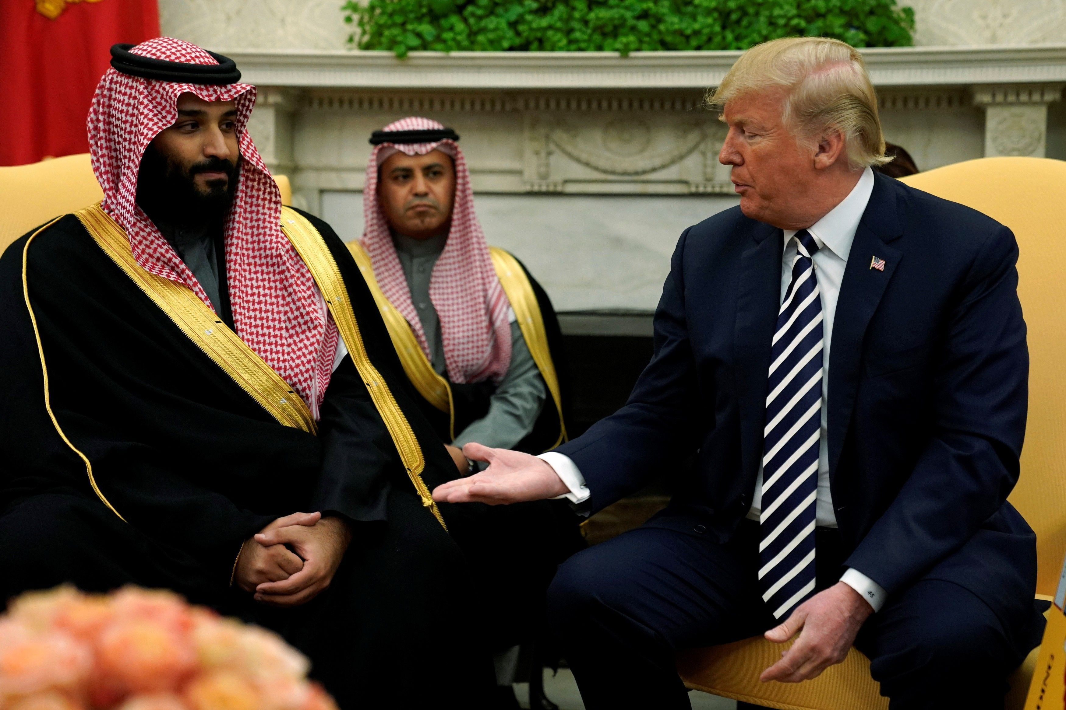 Trump-and-MBS
