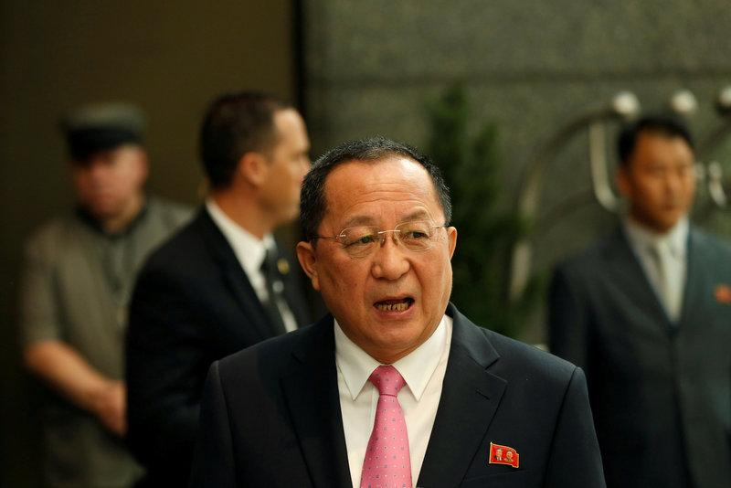 North-Koreas-foreign-minister