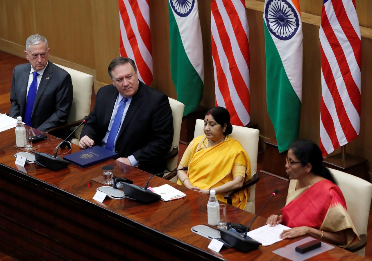 Pompeo-and-Mattis-in-India