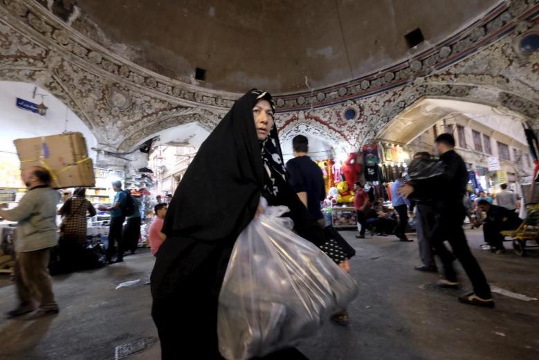 A-woman-Tehran-reutes