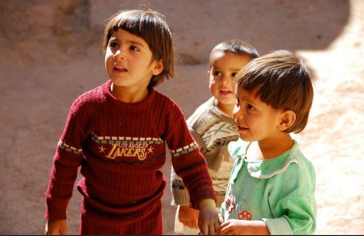 Afghan-kids-Yazd