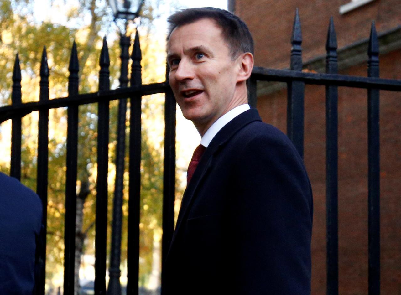 British-Foreign-Secretary-Jeremy-Hunt-54983489