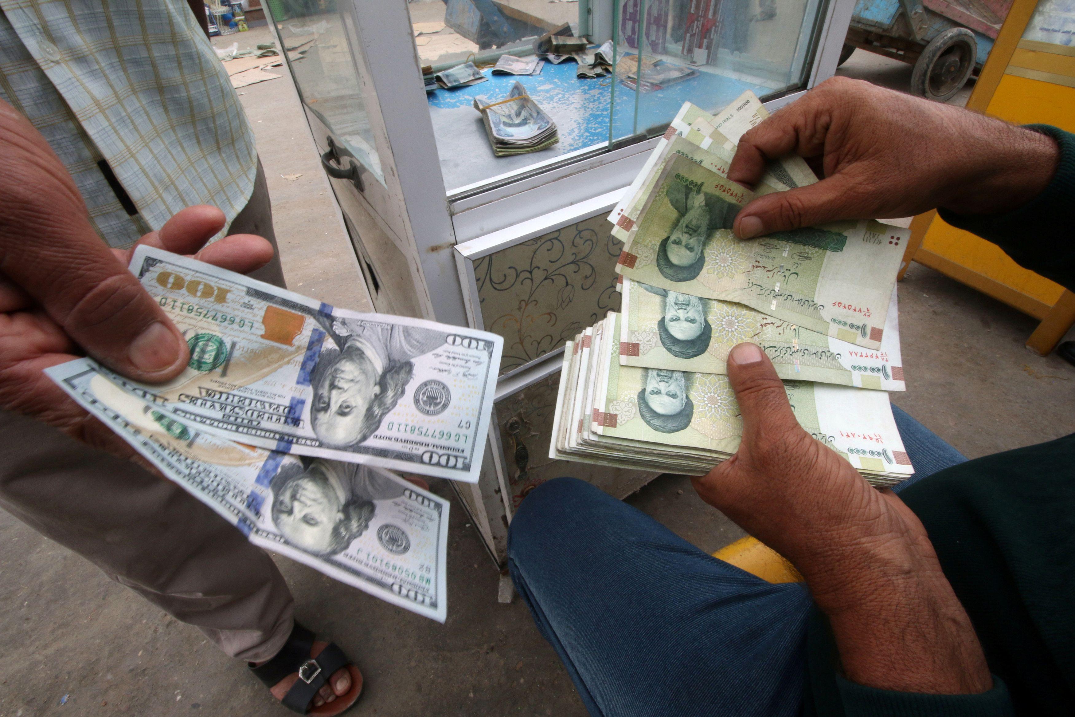 Iranian Rials U S Dollars And Iraqi