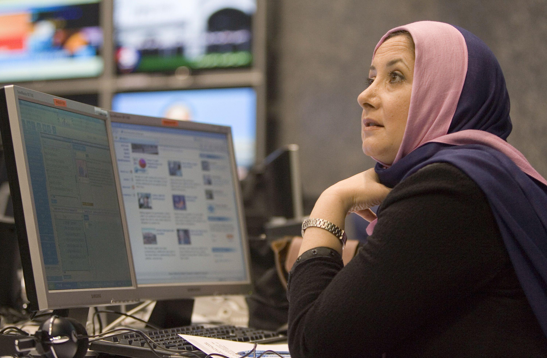 Employee of PRESS TV, Iran's 24-hour English language