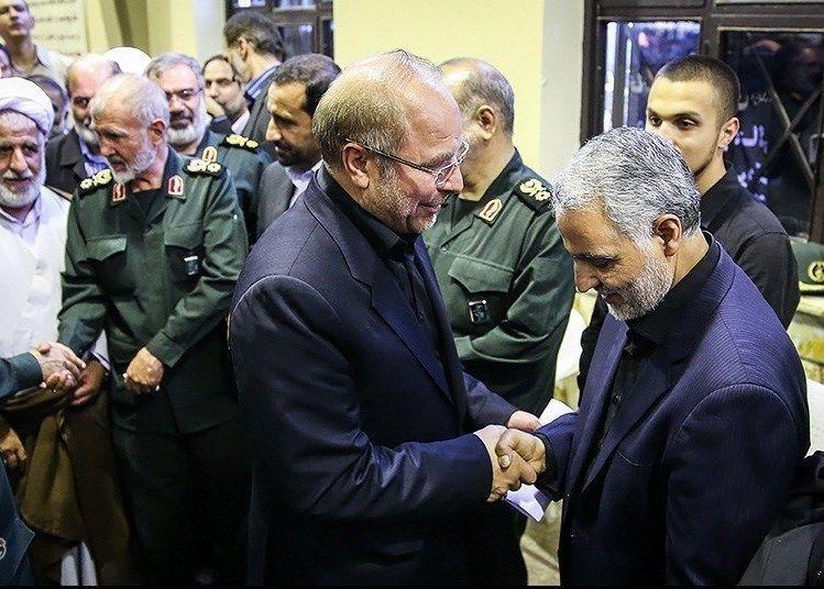 Jihad_Imad_Mughniah_in_General_Qasem_Soleimani_mothers_funeral04_
