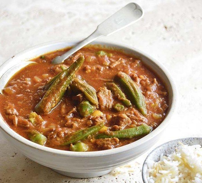 Persian-Okra-Stew-Khoresh-Bamieh