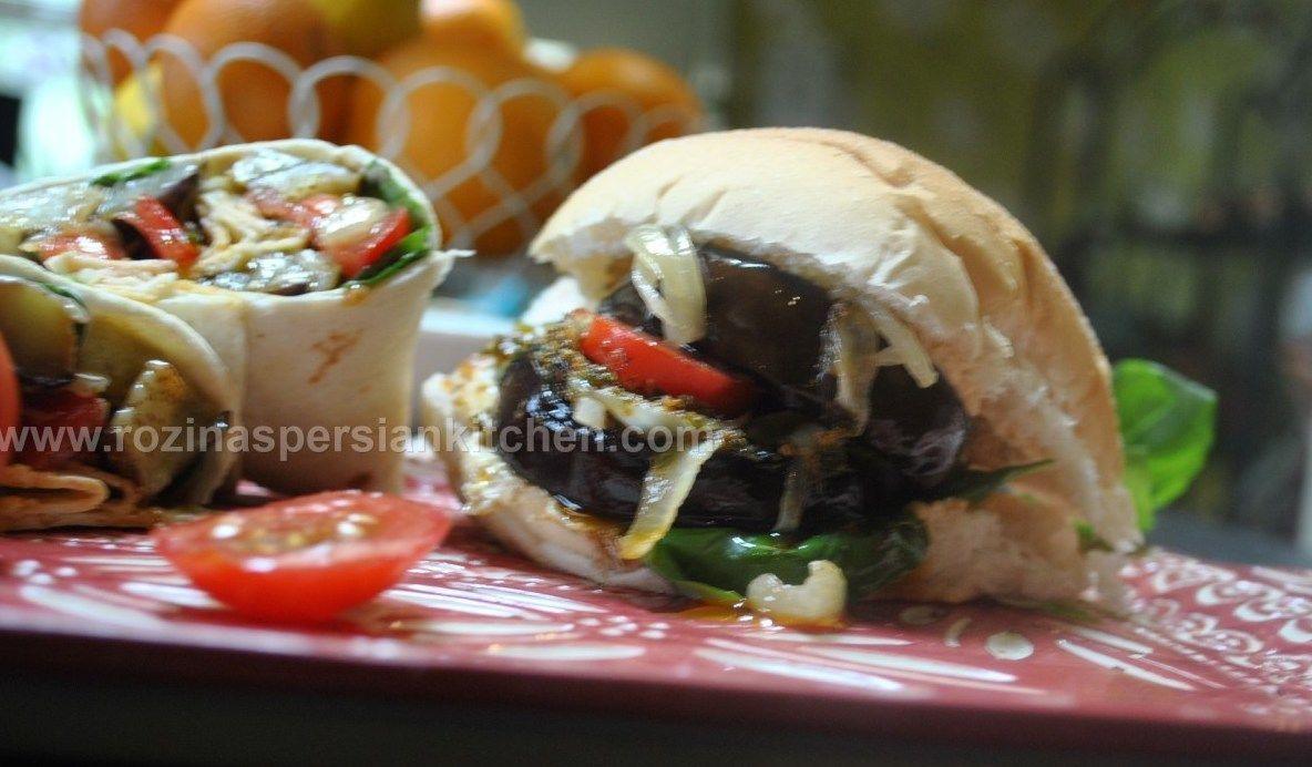 Eggplant-Sandwiches
