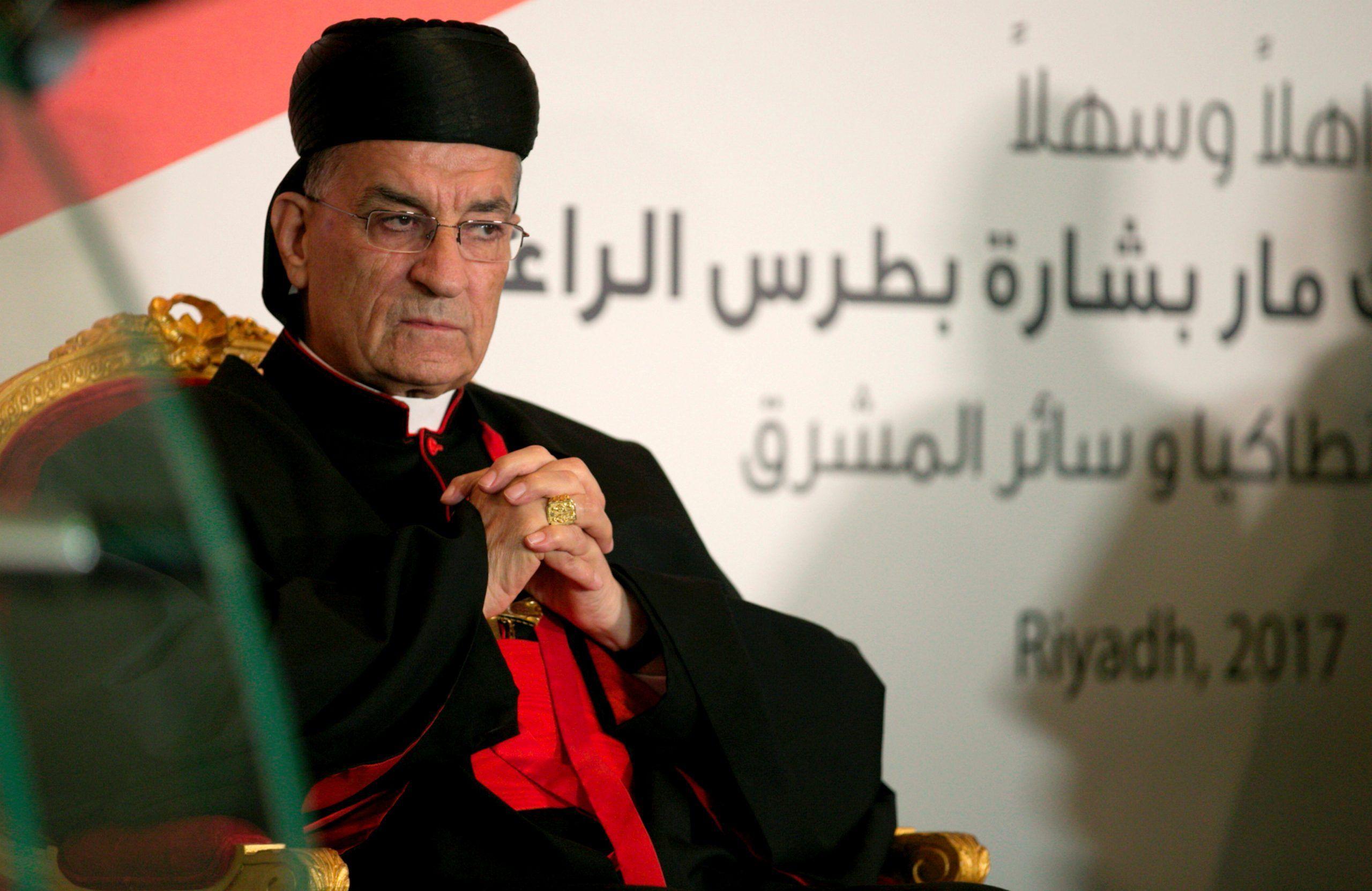 FILE PHOTO: Lebanese Maronite Patriarch Bechara Boutros Al-Rai. REUTERS/Faisal Al Nasser.